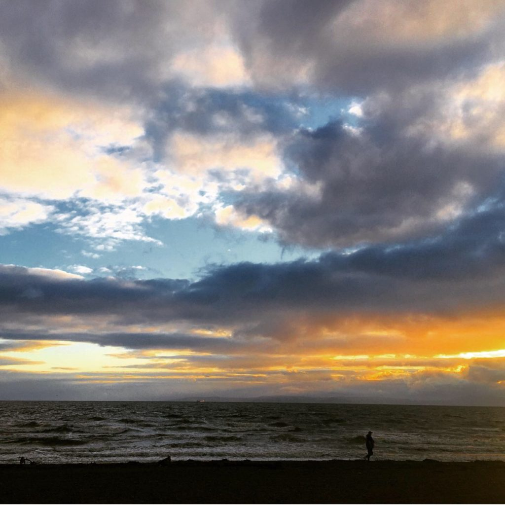 sunset-prestwick-beach