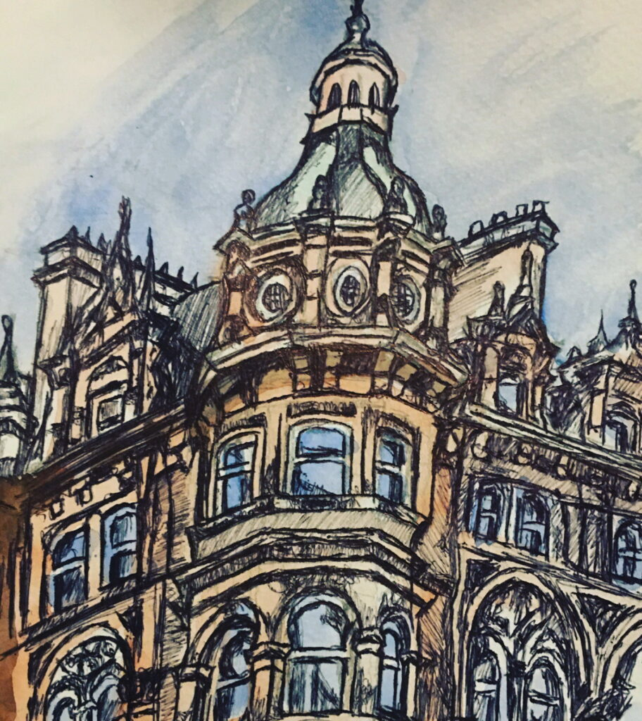 glasgow-building-sketch-by-jane-meighan