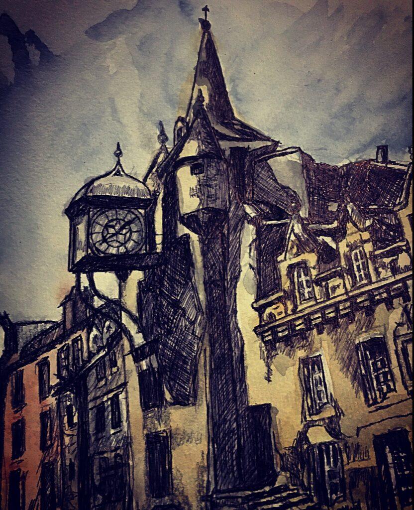 Tolbooth-tavern-sketch-by-jane-meighan