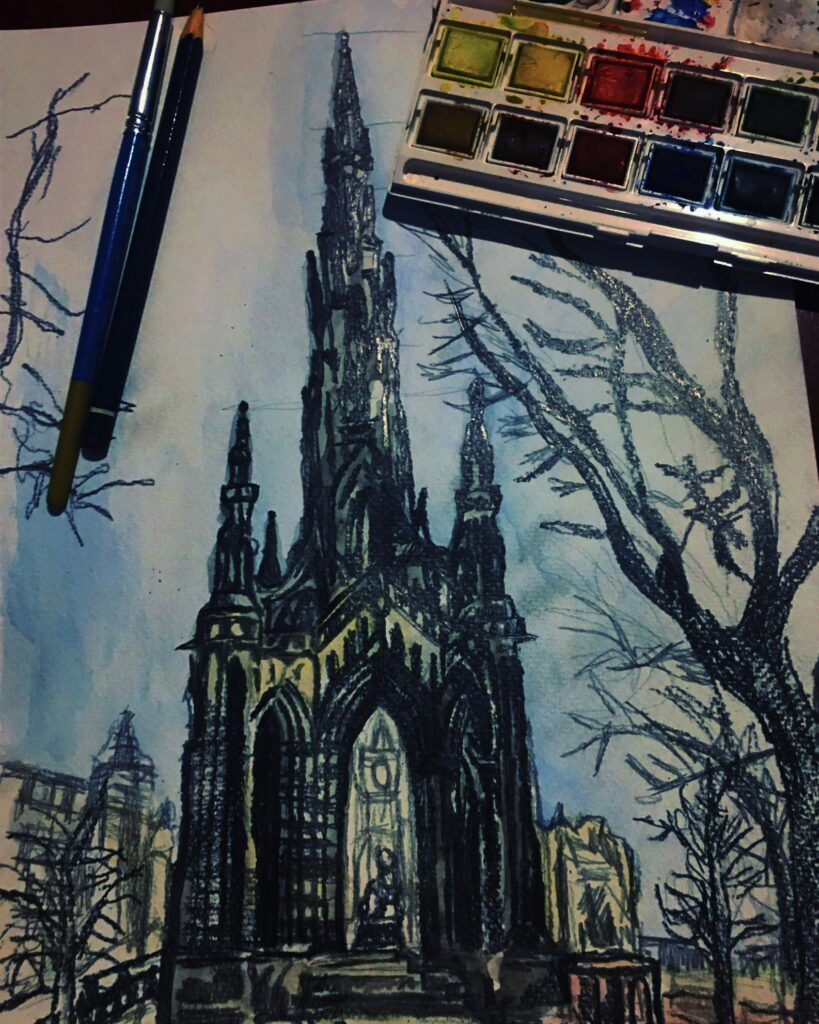 scott-monument-sketch-by-jane-meighan