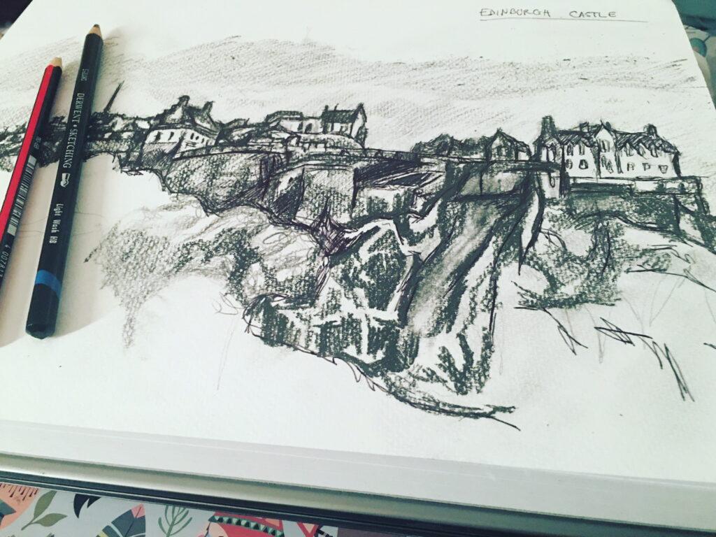 edinburgh-castle-sketch-by-jane-meighan